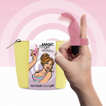 Вибратор на палец FeelzToys Magic Finger Vibrator Pink