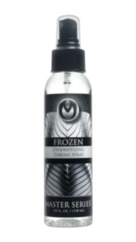 Спрей Master Series Frozen Deep Throat Desensitizing, 118 мл