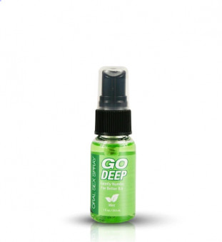 Спрей для глубокого минета Topco Sales Go Deep Oral Sex Spray Mint