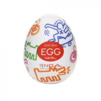 Мастурбатор-яичко Tenga Keith Haring Street Egg Multicolored OS