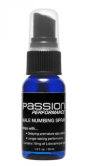 Спрей Passion Performance Stamina Spray with Maximum Lidocaine, 30 мл