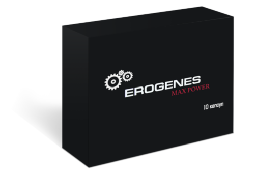 Препарат для потенции Erogenes Max Power