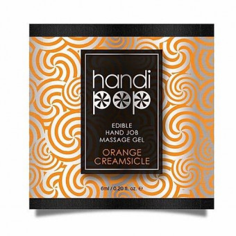 Пробник лубриканта Sensuva - Handipop Orange Creamsicle (6 мл)